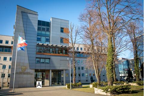 Główny budynek Urzędu - Aleja Łukasza Cieplińskiego 4 w Rzeszowie